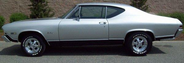 19: 1968 Chevelle Malibu