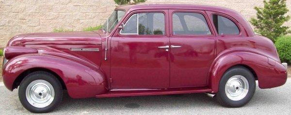 11: 1939 Buick Sedan