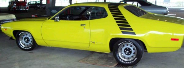 5: 1972 Plymouth Road Runner GTO 440