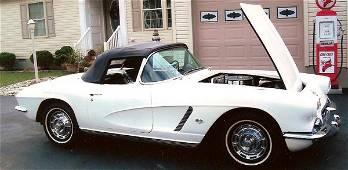 21: 1962 Chevy Corvette