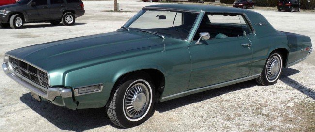 15: 1968 Ford T-Bird
