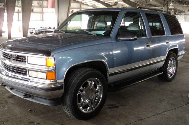 6: 1996 Chevy Tahoe