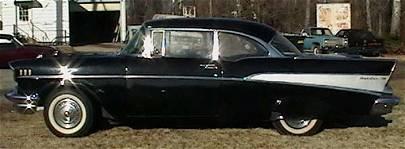 20: 1957 Chevy Belair