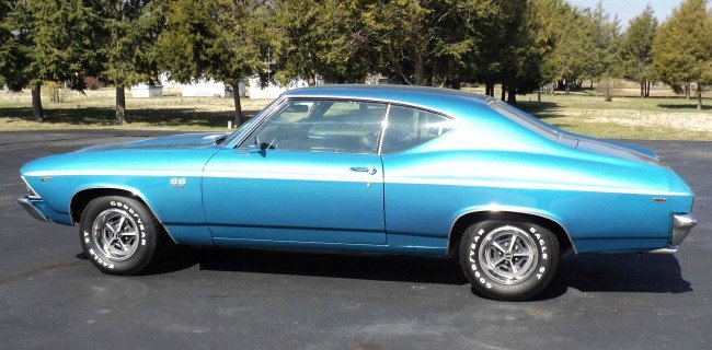 17: 1969 Chevelle SS 396