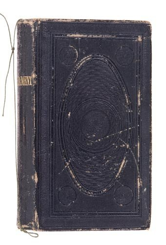 0010: Inscribed 1851 New Testament.