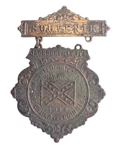 0022: 1914 Jacksonville, FL UCV Medal.