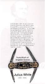0556: Pocketknife of Brigadier General Julius White.