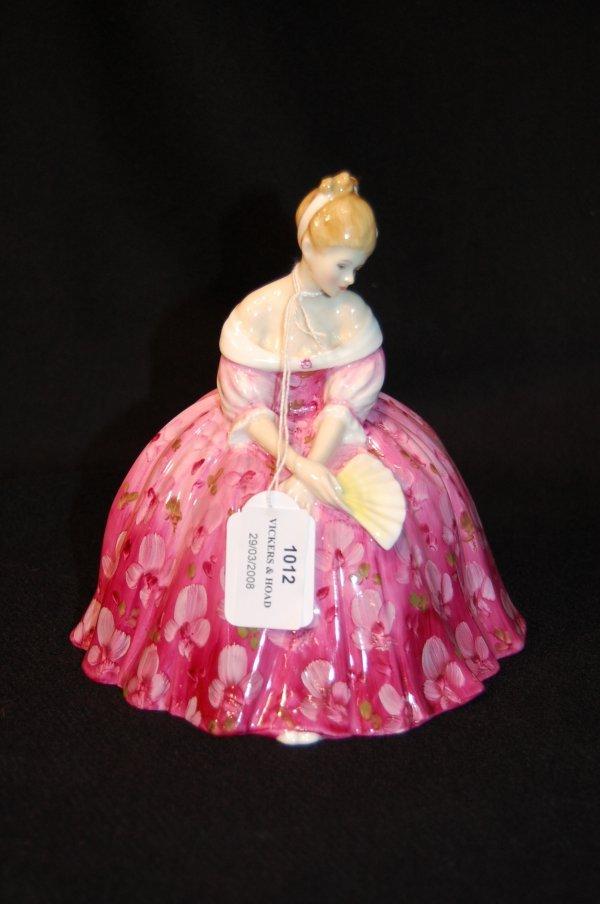 1012: Royal Doulton figure 'Victoria' HN2471, 17cm high