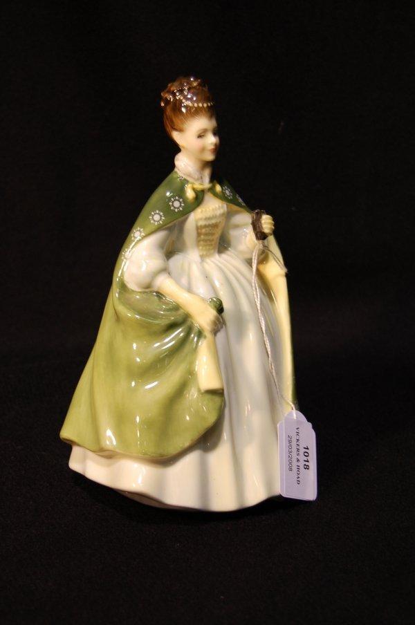 1018: Royal Doulton figure 'Premiere' designed by Peggy