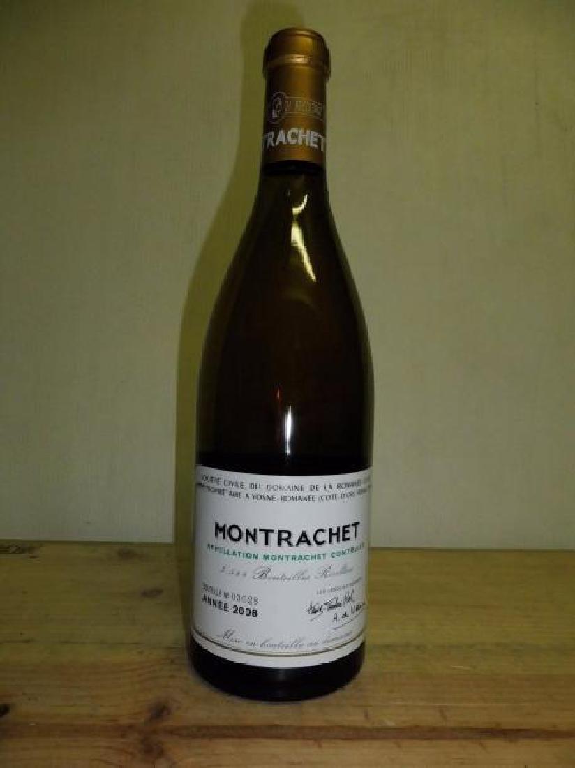 1 bouteille MONTRACHET (Grand Cru) quelques marques