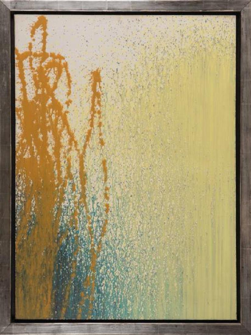 Hans HARTUNG (GER/1904-1989) T1989-H23, 1989 Acrylique