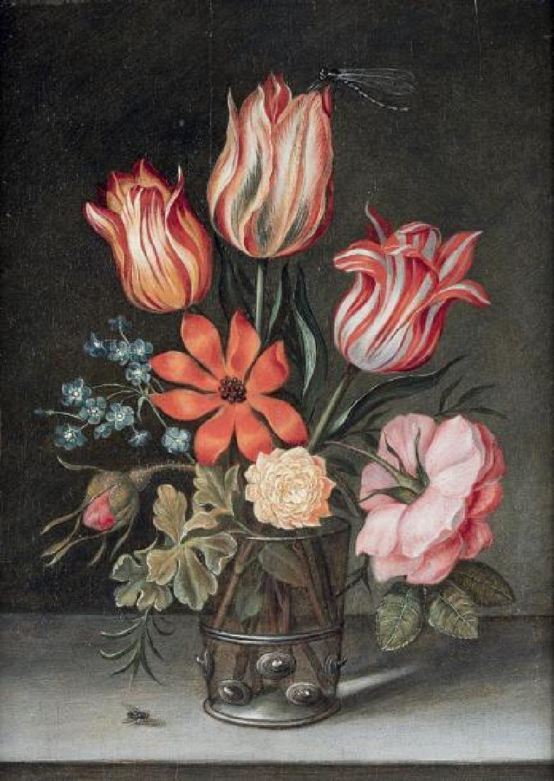 Ottmar ELLIGER (Göteborg 1633-Berlin 1679) Fleurs dans