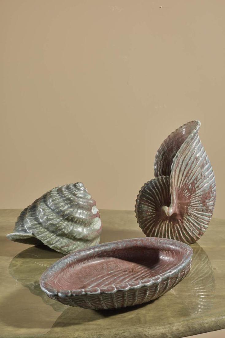 Gunnar Nylund (1904-1997) Coquillage Céramique