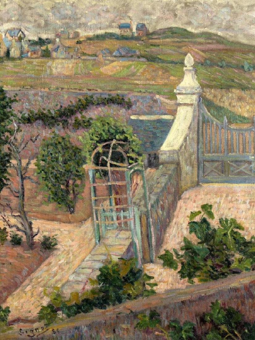 PAUL SIGNAC (1863-1935) Saint-Briac. D'une fenêtre