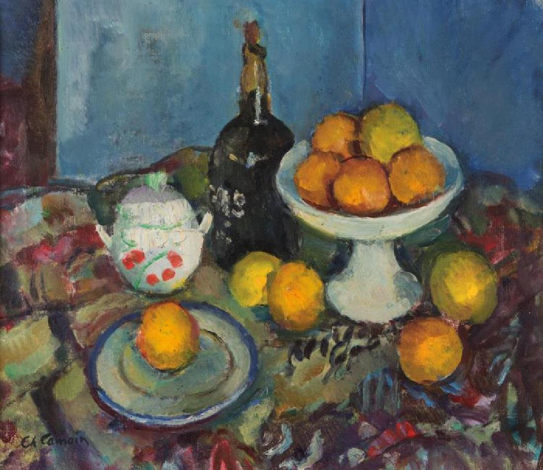 CHARLES CAMOIN (1879-1965) Nature morte aux oranges