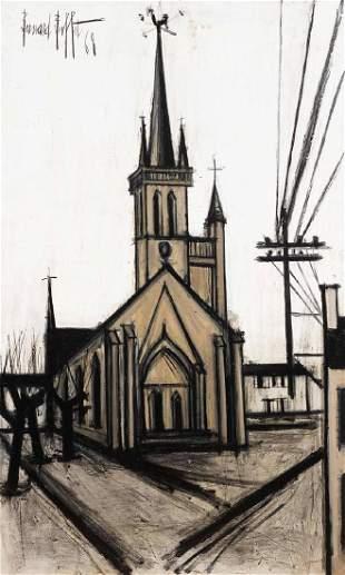 BERNARD BUFFET (1928-1999) La chapelle de la Trinité