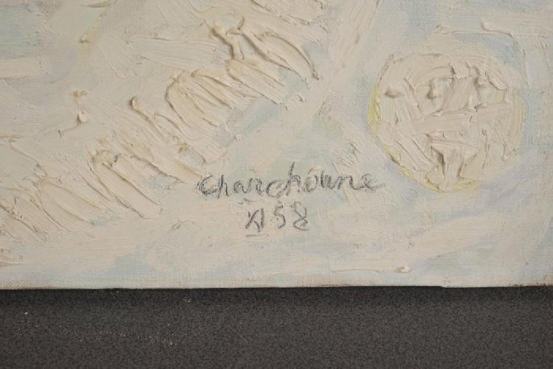 SERGE CHARCHOUNE (1888-1975) Composition inspirée par - 3