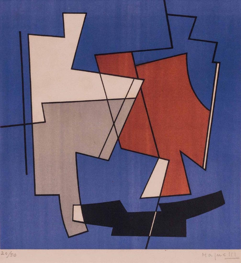 ALBERTO MAGNELLI (ITA/1888-1971) Composition,1950