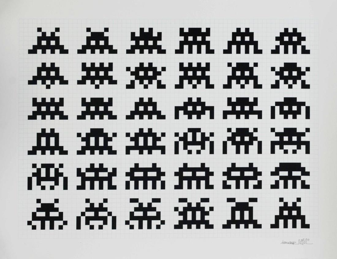 INVADER (1969) Repetition Variation Evolution, 2017