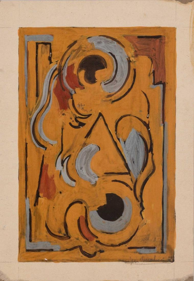 Jean CHEVALIER (FRA/1913-2002) Composition abstraite,