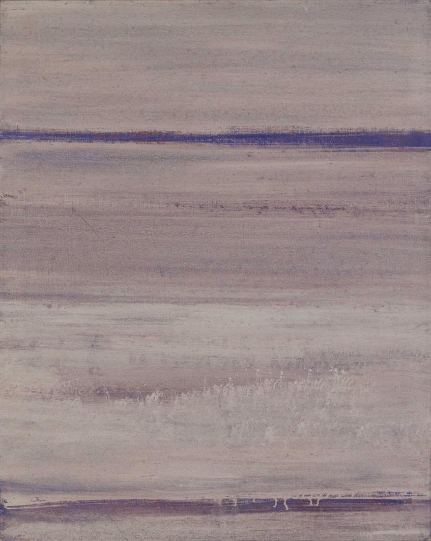 GANI Paysage méditatif, 1961 Huile sur toile 100 x 81