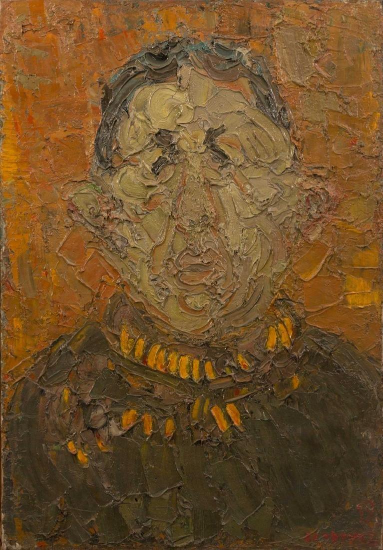 André COTTAVOZ (FRA/1922-2012) Portrait d'Alexandre