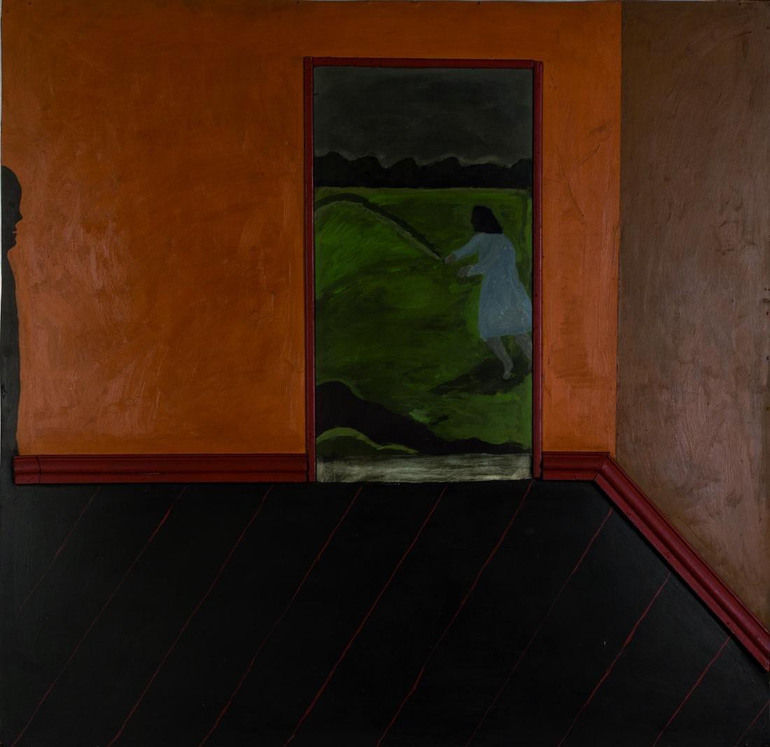 Christian BOLTANSKI (FRA/1944) Sans titre, 1967 Huile