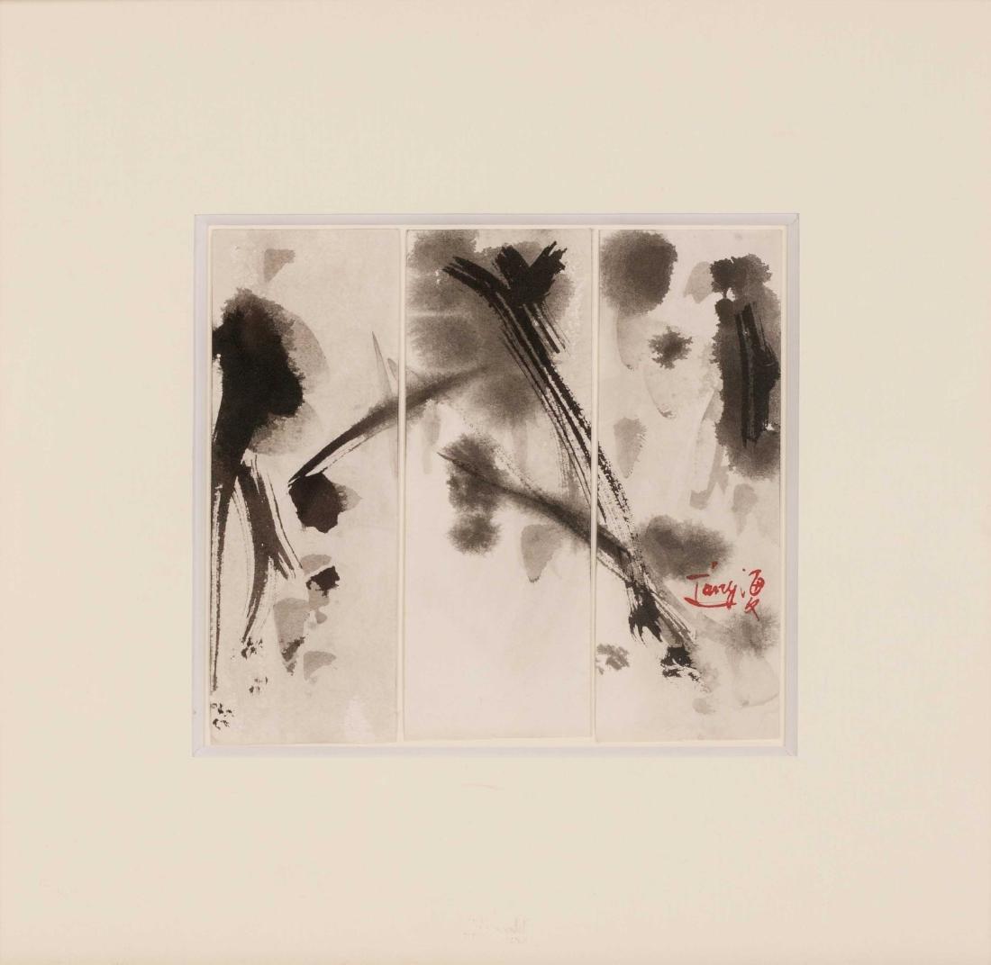 TANG Haiwen (CHN/1927-1991) Sans titre, ca. 1970 Encre