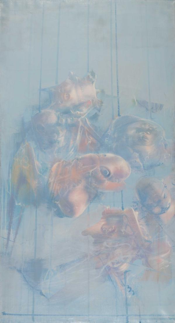 Miodrag Djuric, dit DADO (SRB/1933-2010) La Chambre des