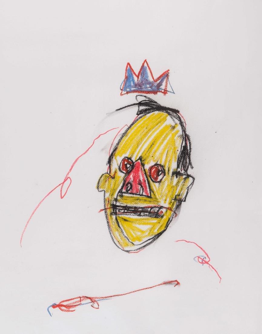 Jean-Michel BASQUIAT (USA/1960-1988) Sans titre, 1982