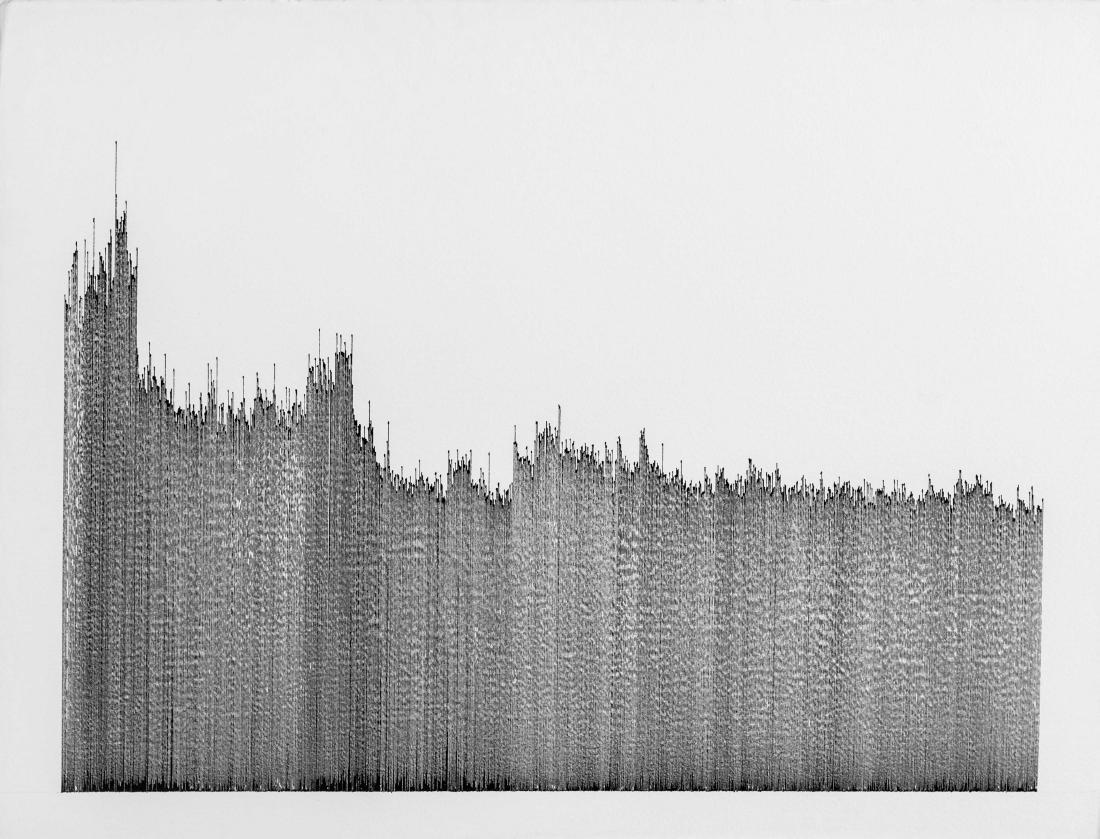 Daniel BRUSH (USA/1947) Koald, 1985 Encre de Chine