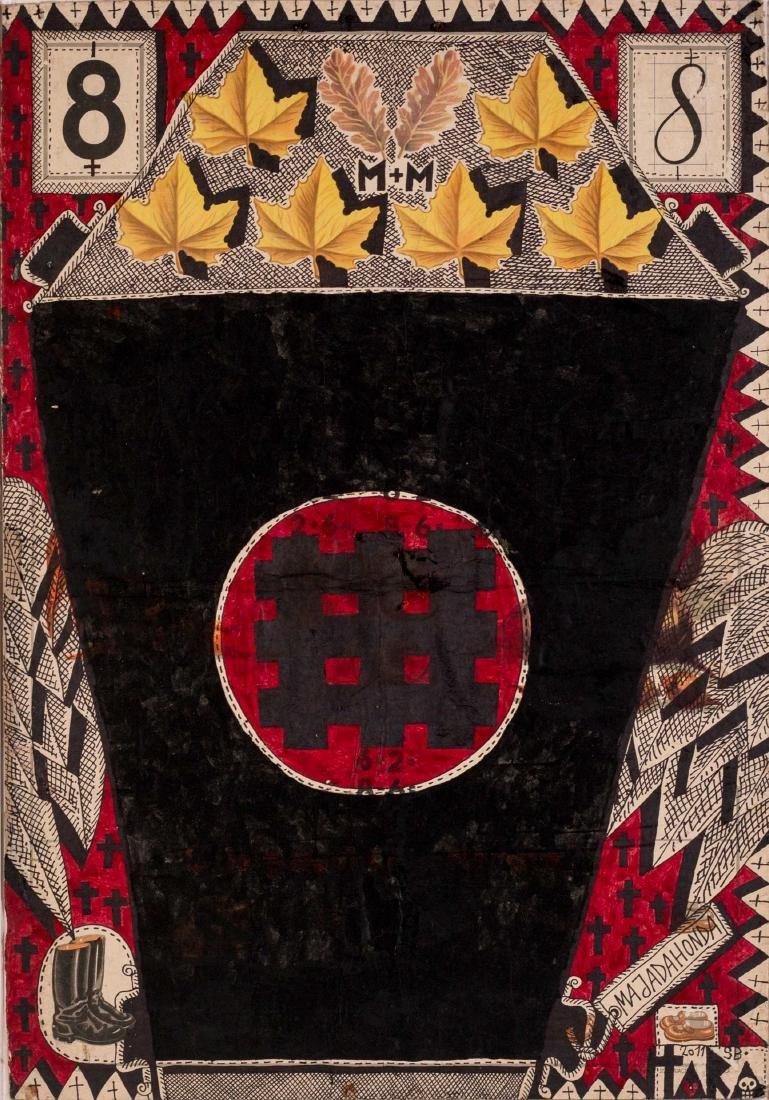 Tara VON NEUDORF (ROM/1974) 8, 2011 Technique mixte sur