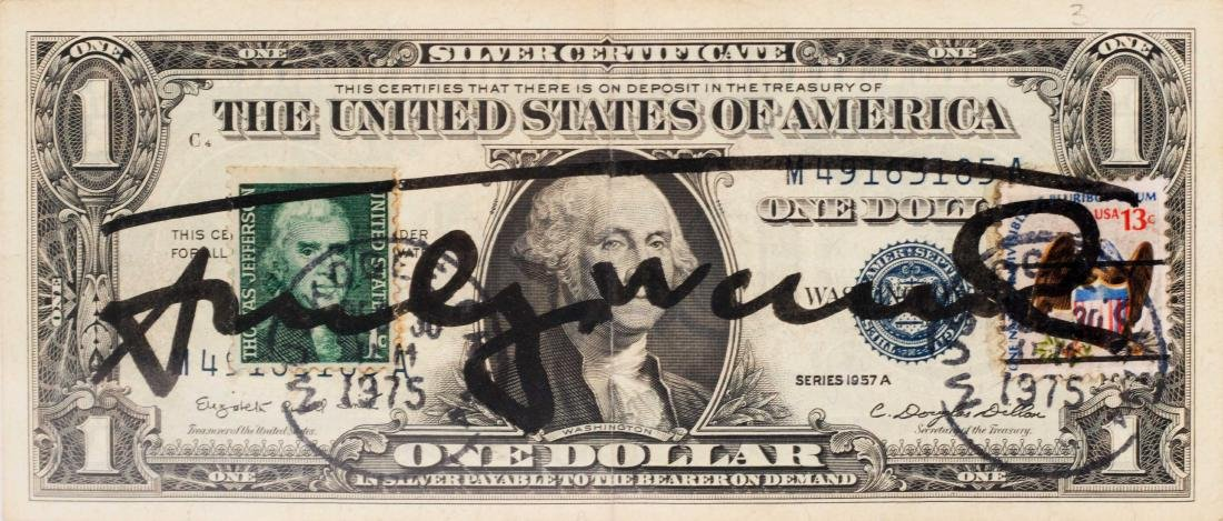 Andy WARHOL (USA/1928-1987) One Dollar Bill, 1975