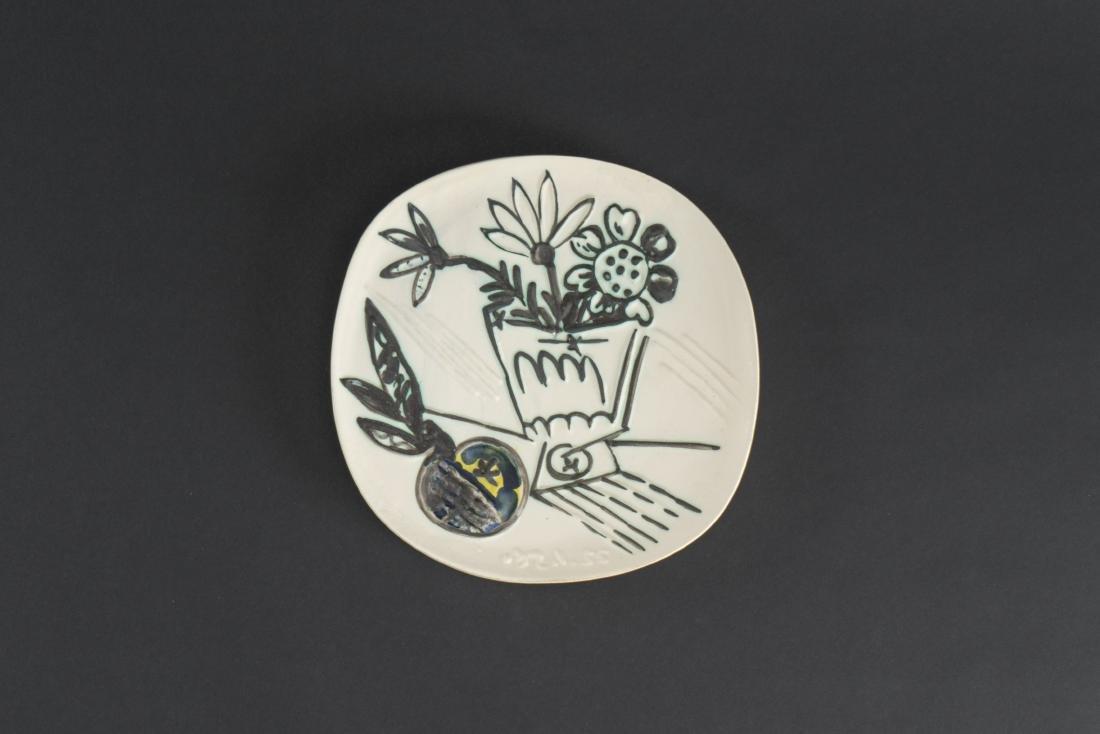 Pablo PICASSO (1881-1973)  Bouquet à la pomme (A.R.