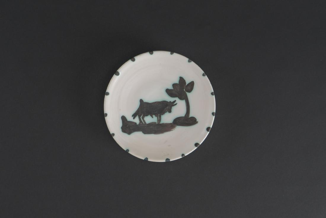 Pablo PICASSO (1881-1973)  Taureau sous l'arbre (A.R.