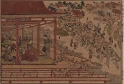 Nishimura Shigenaga (1697-1756) Dai oban yoko-e,