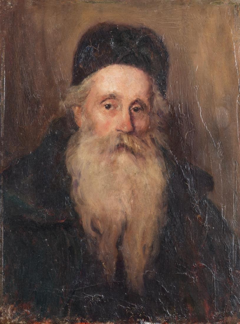 ÉCOLE AMBULANTE RUSSE, VERS 1890 Portrait de