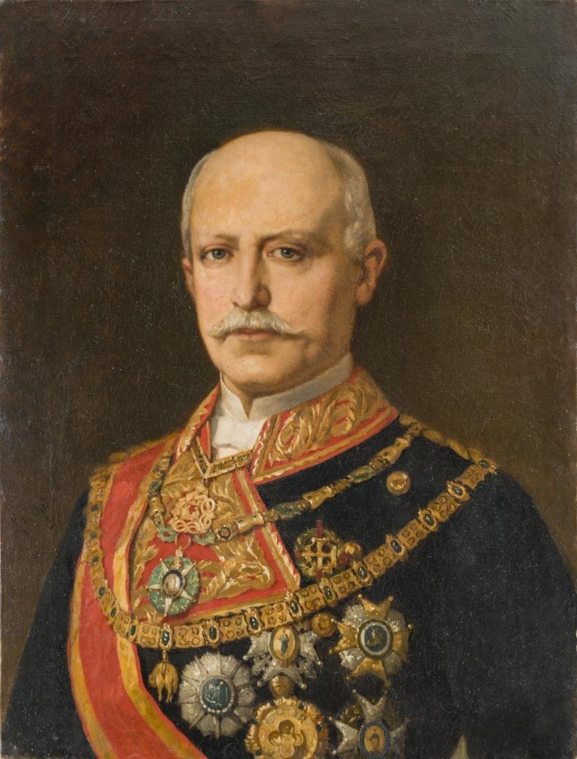 MANUEL DE OJEDA Y SILES (C.1835-1904) Portrait de