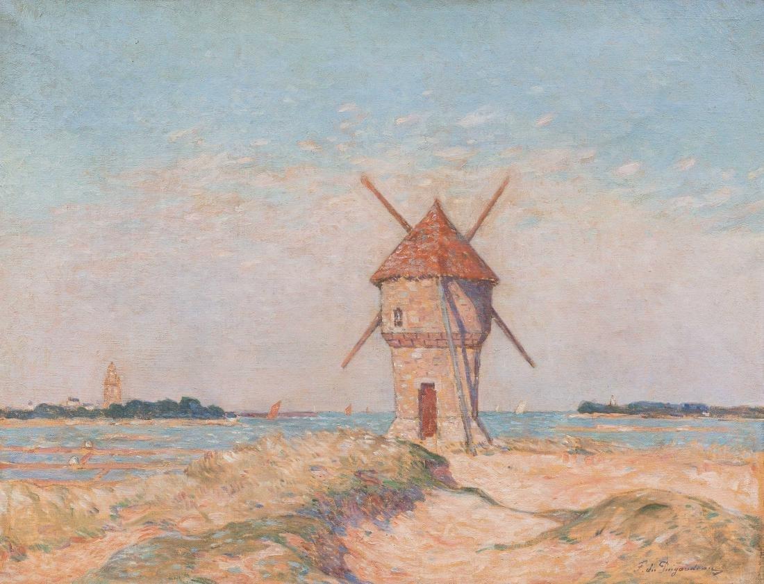 FERDINAND DU PUIGAUDEAU (1864-1930) Le moulin de la