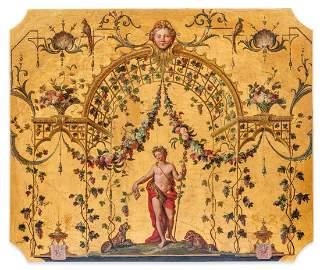 Attribué à Claude III AUDRAN (1658-1734)  Exceptionnel