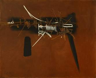 Georges MATHIEU (FRA/1921-2012)Li Duan, 1967Huile sur
