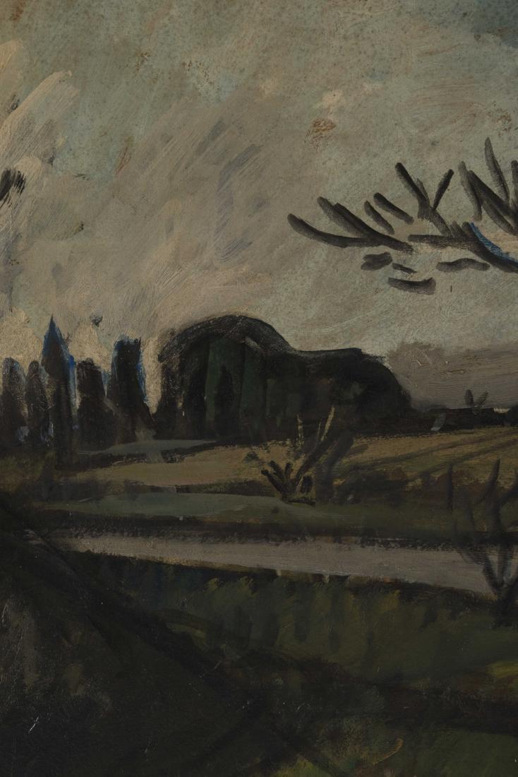 Auguste CHABAUD (1882-1955)  Les oliviers au bord de la - 3