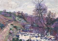 Armand GUILLAUMIN (1841-1927)  Bord de rivière