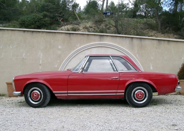 2004: MERCEDES BENZ - SL 230 Type W113 A - 1966Long : 4