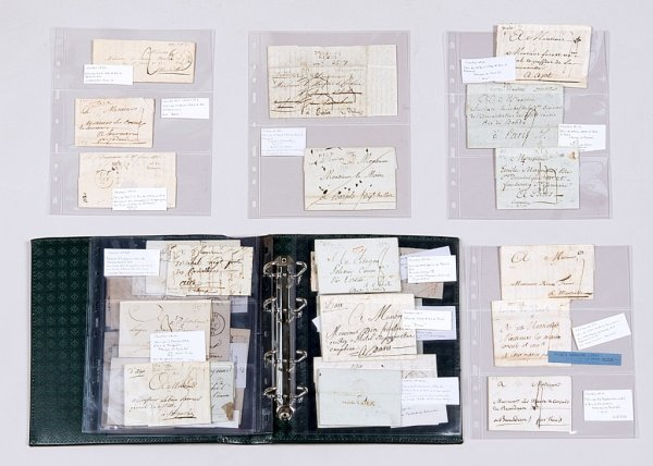13: France : Bouches du Rhône, collection de lettres av