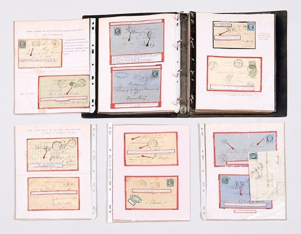 19: France : Collection de lettres (50 approx.) essenti