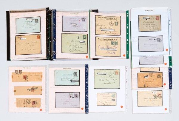 20: France : collection d'oblitérations d'Algérie,lettr