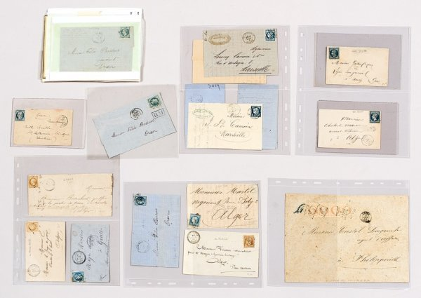 21: France : timbres classiques avec oblitérations d'Al