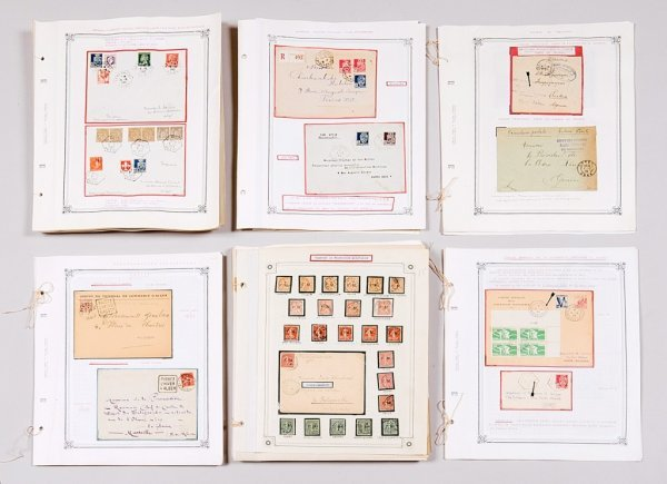 24: France/Algérie : collection de lettres et cartes po