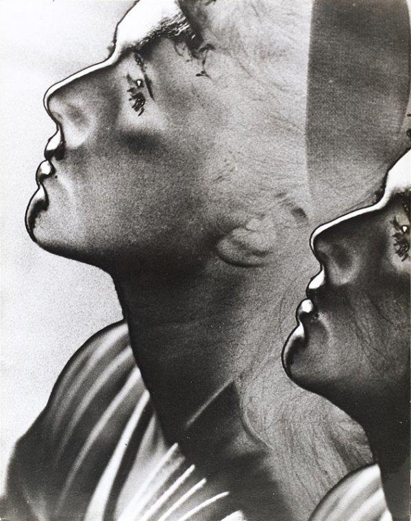 "1002:  ""MAN RAY (1890-1976)Profil, 1932.Solarisation, t"